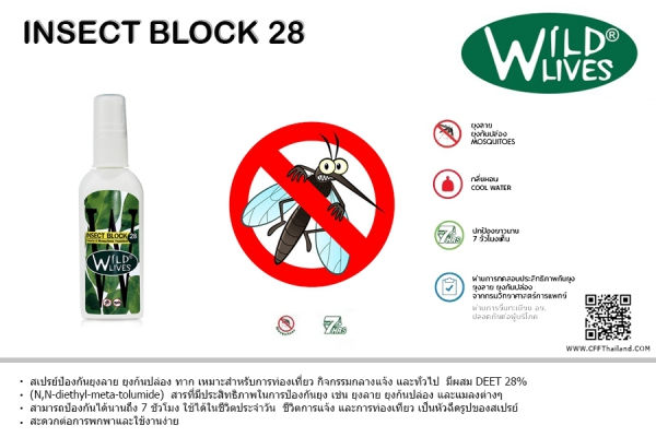 Wild Lives Insect Block 28