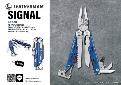 Leatherman Signal Cobalt...