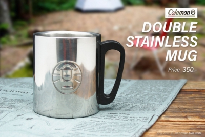 Coleman Double Stainless Mug