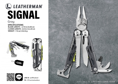 Leatherman Signal Gray...