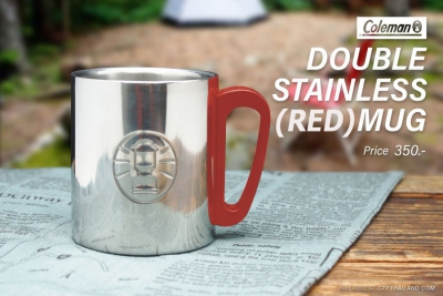 CM. Double Stain... Mug Red